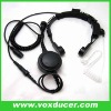 Military Throat Microphone for Two Way Radio/interphone accessories
