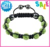 2012 hot sell popular shamballa bracelets fashion woman shamballa jewelry
