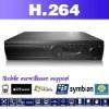 High-end standalone 8ch H.264 DVR best performance