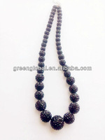 2012 hot sales men's shamballa necklace