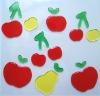 2012 Window Gel Sticker-apples