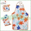 BBQ kitchen textile sets apron