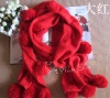 Wholesale fashion knitted wool scarf