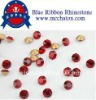 ss12 pp24 Resin Rhinestone with light siam color point back stone for garment accessory