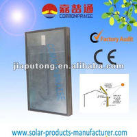 Solar air collector for family warming