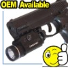 225 Lum tactical led torch with Pressure Pad Switch
