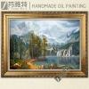 Sierra Nevada, handmade landscape canvas painting reproduction of Albert Bierstadt