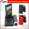 "Motion Detection HD1080P car dvr Dual Camera Car Black Box HDMI H.264 & 2.7"" Large Screen 140degree lens DVR7000"