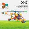 plane plastic building block toys