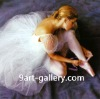 ballet dancer oil paintings