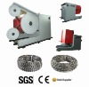 Spring diamond wire saw for marble quarry cutting or blocks squaring