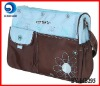 New design microfiber mother bag/mummy bag/diaper bag BY-MB295