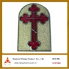 stained glass metal wall art cross craft