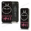 Lovely Rabbit Back Cover Housing Replacement for iPhone 4