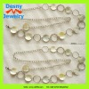 female stylish fashion daisy round beaded beads rhinestone wait belt costume jewelry
