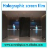 holographic window film easy install ultra-light self-adhesive for windows shop advertising