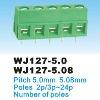 PCB Screw Terminal Blocks 5.0mm WJ127