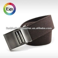 newest webbing belt for men bullet buckle