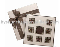 High quality chocolate packaging box as a gift