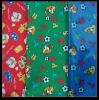 70D Polyester Printed Fabric With PVC Coated