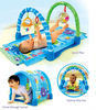 Baby gym play mat/baby toys/baby carpet with lights and sounds and music