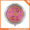 women's compact metal mirror 2013 (QYMCD-091)