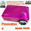 Promotion in June! low cost led projector 1080p with HDMI/TV, work well with pc, laptop, wii, ps3 and dvd etc