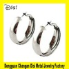 Wholesale Alloy Earrings,Promotion Earrings With Big Silver Hoops