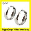 Wholesale Alloy Earrings,Promotion Earrings With Big Silver Hoops