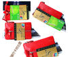 Genuine leather key holder & phone bag & leather wallets cards bag