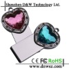 diamond jewelry usb drive 128MB-32GB