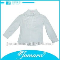 New style girls shirts,long sleeve cotton girl shirts