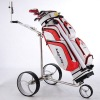2013 Stainless steel Electric Golf Trolley with Tubular Motor and motor brake