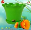 Colorful Plastic Flower Pot for Indoor Plant