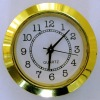Metal Frame Insert Clock, Suits for Art Craft and Furniture