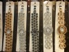 Genuine Alloy Ladies Womens Crystals Studded Dial Bracelet Bangle Wrist Watch
