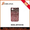 Crose Letters Pattern Bright Hard Plastic Case for iPhone 4/4S