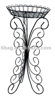 butterfly iron flower stand