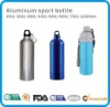 HTAF branded AOO pure aluminum travel bottle for hikers and travellers