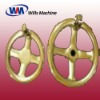 Superior surface treatment valve handle wheel