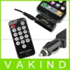 Car Charger Adapter+FM Transmitter+Remote For i Phone 4 4G 3GS 3G 2G iP od Touch