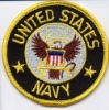 Embroidery patch/united states navy patch