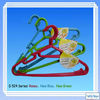 TH-2049 colourful plastic clothes hanger for household