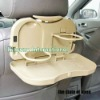 Plastic travel dining tray for car
