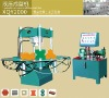 Revetment block molding machine