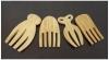kitchenware/bamboo salad hand set