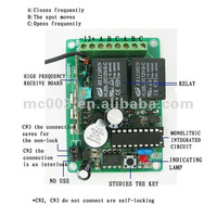 Small Transmitter Receiver Remote Control