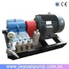 High pressure cleaner for ship derusting