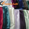 100% polyester satin table runner for wedding decoration