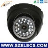 "1/3""Sharp CCD 4.5""Plastic IR Dome Camera rugged cctv camera"